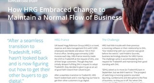 How HRG Embraced Change to Maintain a Normal Flow of Business