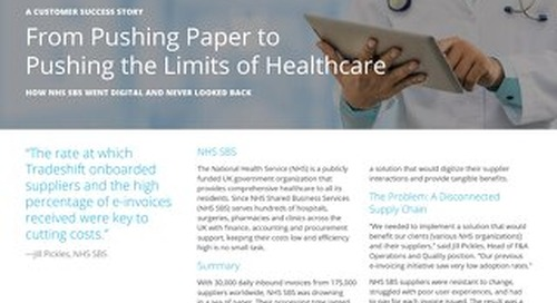 NHS goes from pushing paper to pushing the limits of healthcare