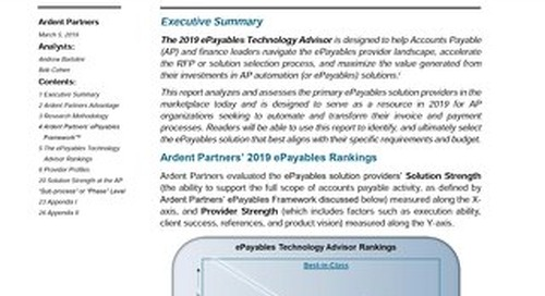 Find out why Tradeshift's payables solution is ranked best-in-class in the Ardent Partners' ePayables Technology Advisor