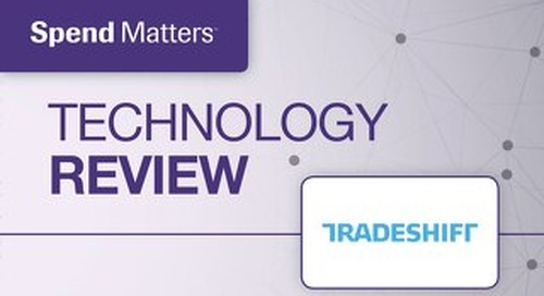 Spend Matters technology review