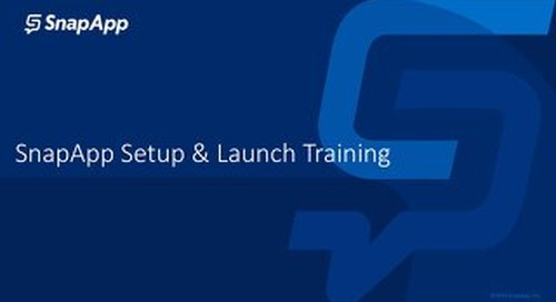 SnapApp for HubSpot Set Up and Launch Training Guide