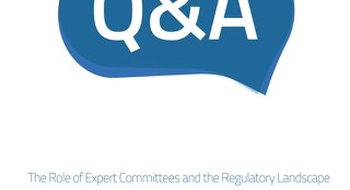 Q&A: The Role of Expert Committees and the Regulatory Landscape