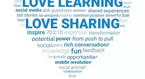 Love Learning. Love Sharing