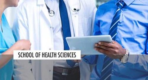 School of Health Sciences Viewbook 2019