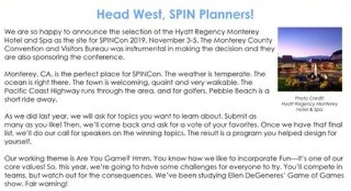 April 2019 SPIN:News