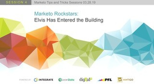 Marketo Rockstars: Elvis Has Entered the Building