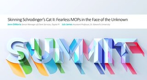 Jenn DiMaria - Skinning Schrodinger's Cat II: Fearless MOPs in the Face of the Unknown