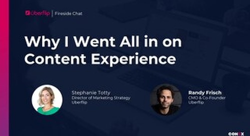 Why I Made Content Experience My Full Time Job