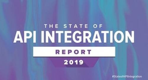 2019 State of API Integration Report | Webinar Slides