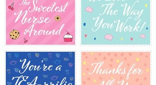 Nurses Week Gift Tags