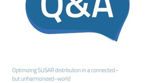 Optimizing SUSAR distribution in a connected– but unharmonized–world