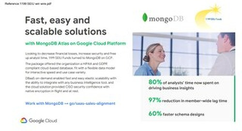 Highlighted Joint Wins: GCP & MongoDB Atlas