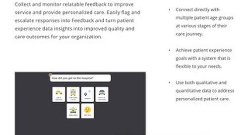 Achieve Patient Experience Goals Across your Organization