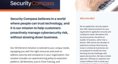Security Compass: About Us