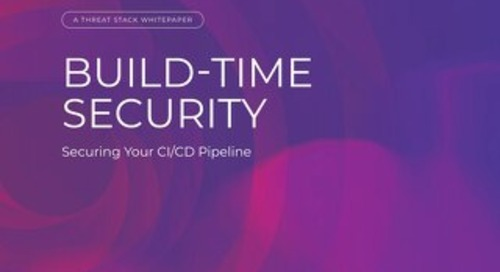Build-Time Security: Securing Your CI/CD Pipeline