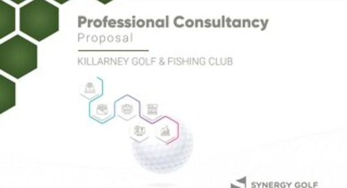 Killarney Golf & Fishing Club - Professional Management Proposal