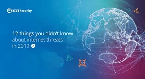 12 Things you didn't know about internet threats