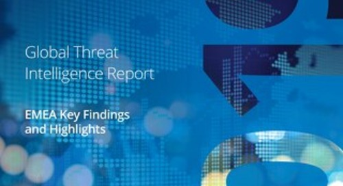 Summary of key findings from Global Threats Intelligence Report 2019