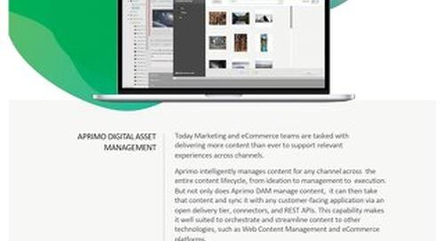 Aprimo DAM + Sitecore Experience Cloud