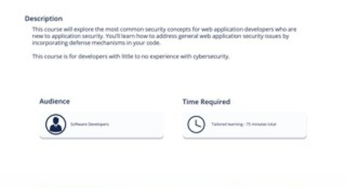 SEC 102 Defending Web Applications