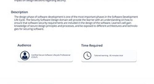 CSP 103 Secure Software Design