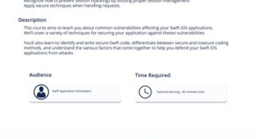 IOS 301 Defending SWIFT for iOS