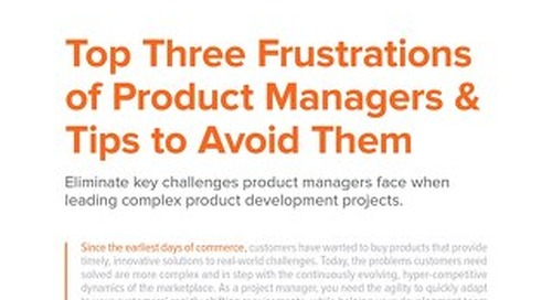 Top Three Frustrations of Product Managers and Tips to Avoid Them