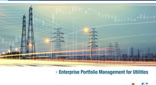 eBook: Enterprise Portfolio Management for Utilities