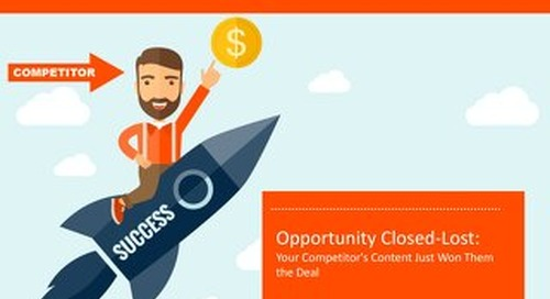 Opportunity Closed-Lost: Your Competitor's Content Just Won Them the Deal