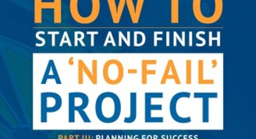 Part 3. Planning for success