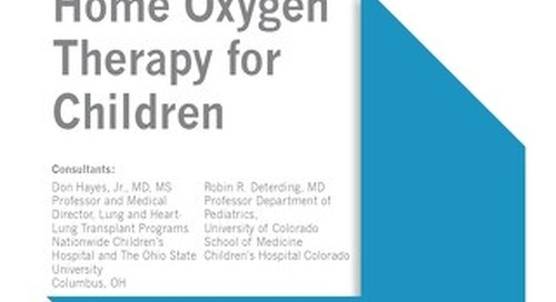 Home Oxygen Therapy for Children