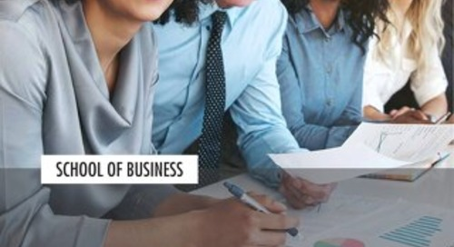 School of Business Viewbook 2019