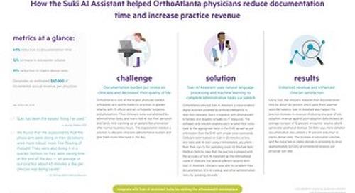 Suki AI Case Study - OrthoAtlanta 2021