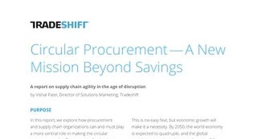 Circular procurement: a mission beyond savings