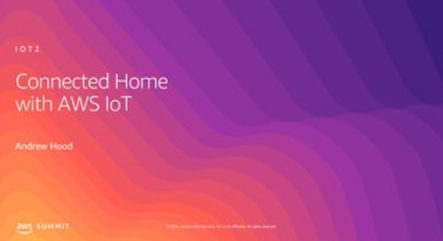 Connected Home with AWS IoT