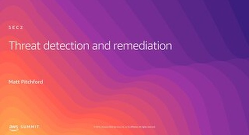 Threat Detection and Remediation