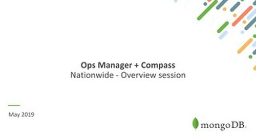 Ops Manager  + Compass Overview