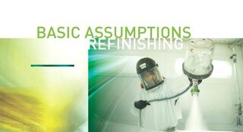 Basic Refinishing Assumptions Guide 2019