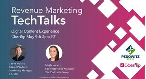 TechTalk Slides: Digital Content Experience - Uberflip
