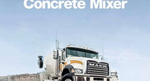 Mack for Concrete Mixing