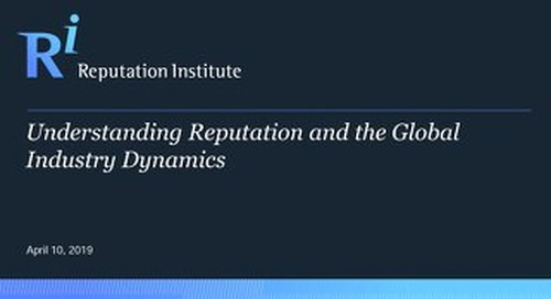 Global Industry Dynamics 2019