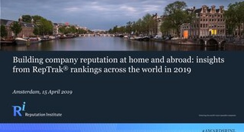 Building Company Reputation at Home and Abroad