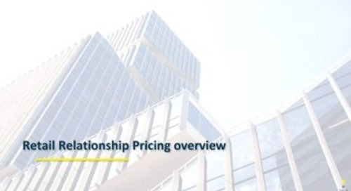Bank Of Tennessee-Overview of Zafin Retail Relationship Pricing Suite