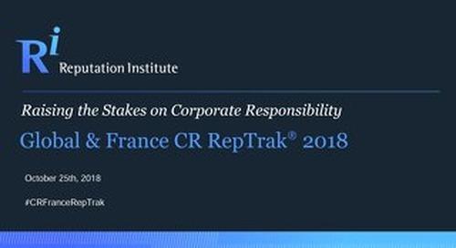 France CR RepTrak 2018