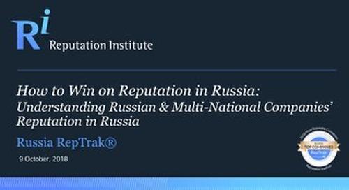 2018 Russia RepTrak