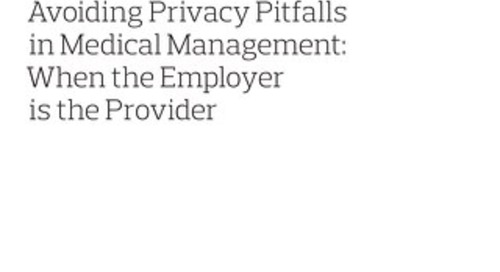 Avoiding Privacy Pitfalls in Medical Management