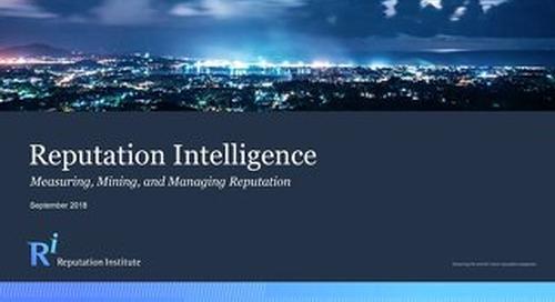 Reputation Intelligence Report