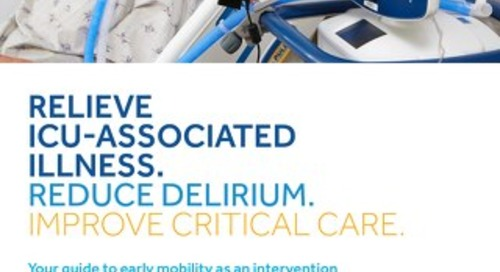 Brochure: Your Guide to Early Mobility as an Intervention