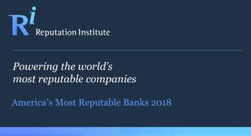 2018 US Bank RepTrak