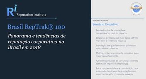 2018 Brazil RepTrak - Executive Summary